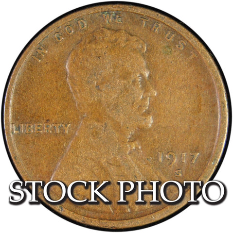 1917-S Lincoln Cent <br>Good