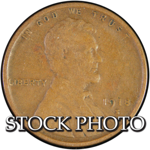 1918-S Lincoln Cent <br>Good