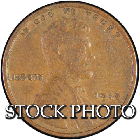 1918 Lincoln Cent <br>Good