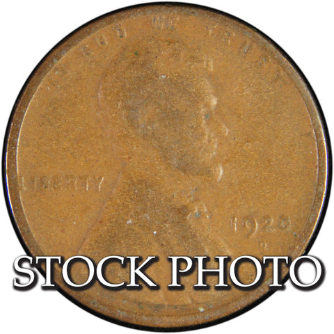 1920-D Lincoln Cent <br>Good