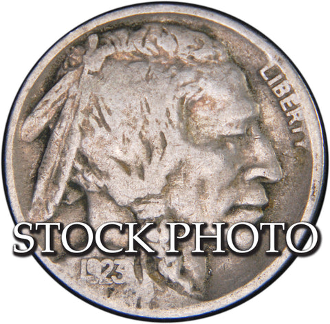 1923 Buffalo Nickel <br>Good