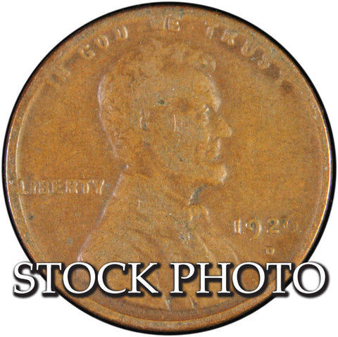 1926-D Lincoln Cent <br>Good
