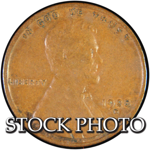 1928-D Lincoln Cent <br>Good
