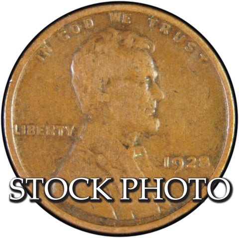 1928 Lincoln Cent <br>Good