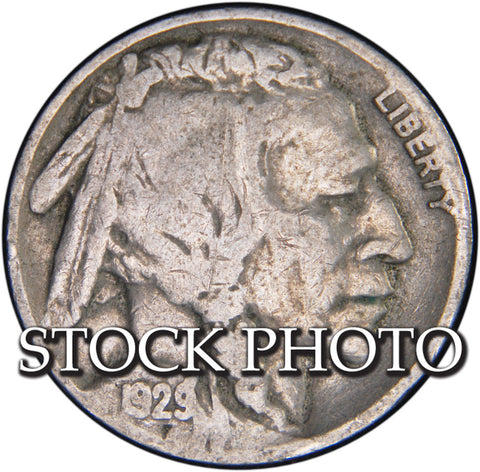 1929 Buffalo Nickel <br>Good