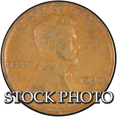 1929-D Lincoln Cent <br>Good