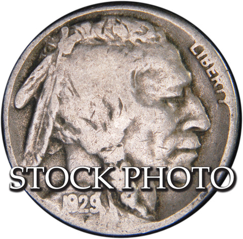 1929-S Buffalo Nickel <br>Good