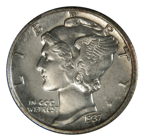 1937 Mercury Dime <br>Gem Brilliant Proof