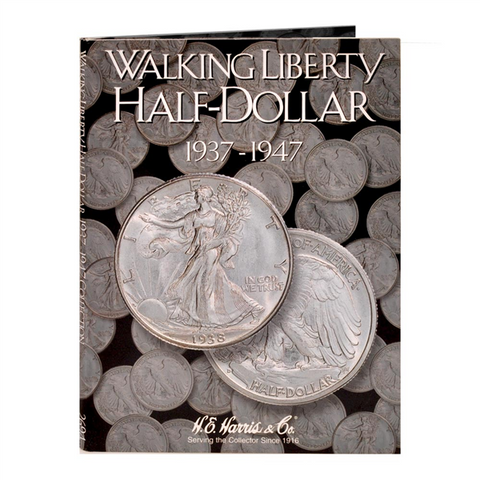 Walking Liberty Half Harris Coin Folder
