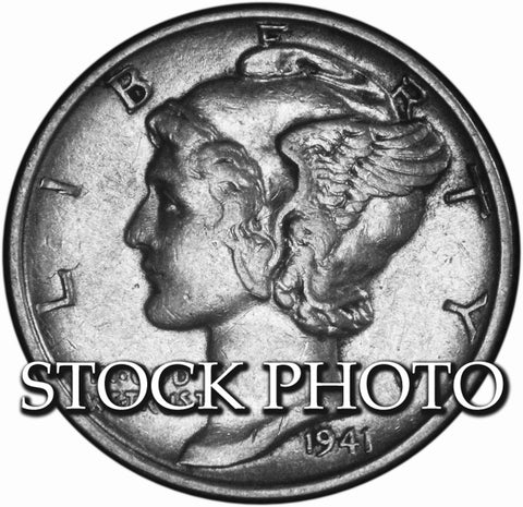 1941 Mercury Dime . . . . Brilliant Uncirculated