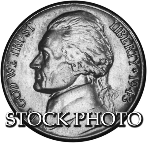 1943-D Silver Jefferson Nickel