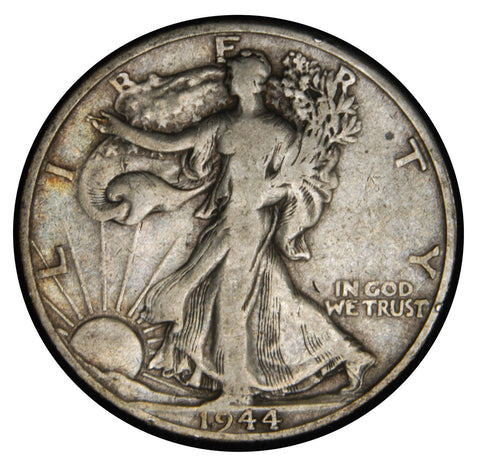 1944-D Walking Liberty Half . . . . Very Good