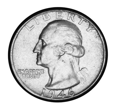 1946 Washington Quarter . . . . Brilliant Uncirculated