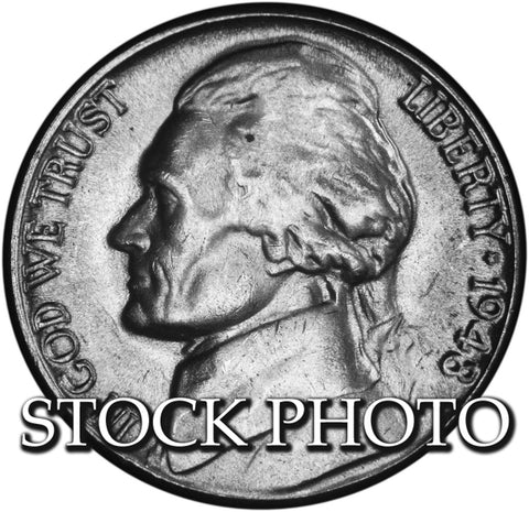 1948-D Jefferson Nickel