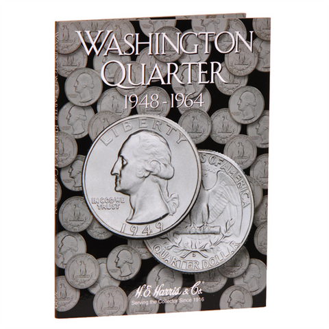 Washington Quarter Harris Coin Folder