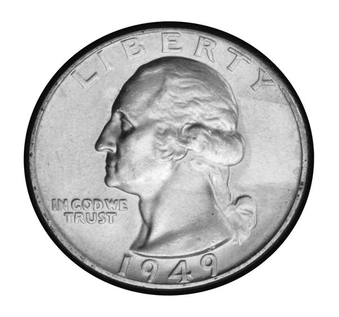 1949 Washington Quarter