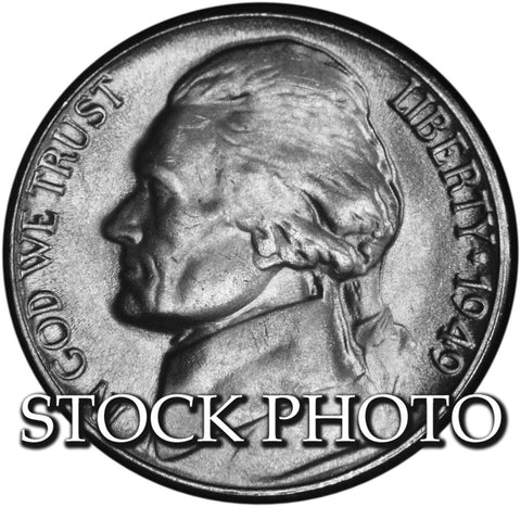 1949-D Jefferson Nickel