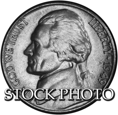 1949-S Jefferson Nickel . . . . Brilliant Uncirculated