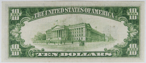 $10.00 1950 Federal Reserve Note STAR E . . . . <br>Choice Crisp Uncirculated