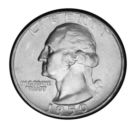 1950-D Washington Quarter