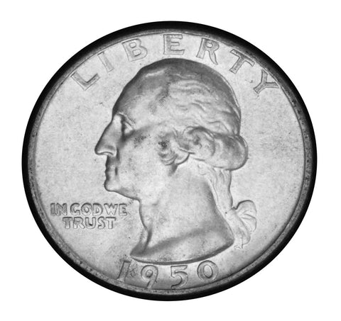 1950 Washington Quarter