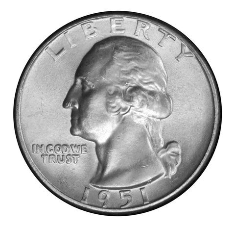 1951-D Washington Quarter