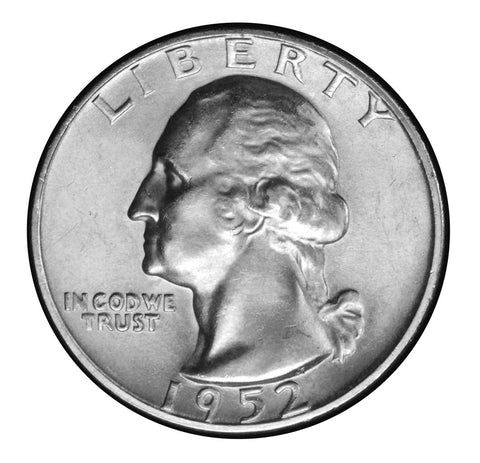 1952-S Washington Quarter