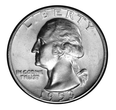 1953-D Washington Quarter