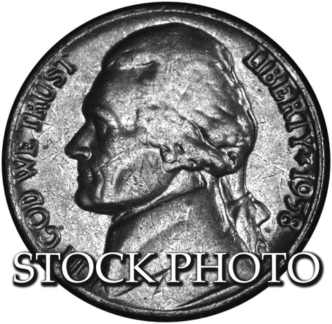 1958 Jefferson Nickel . . . . <br>Brilliant Uncirculated