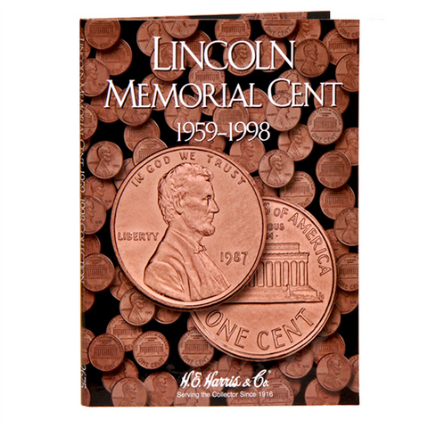 Lincoln Memorial Cent Harris Coin Folder