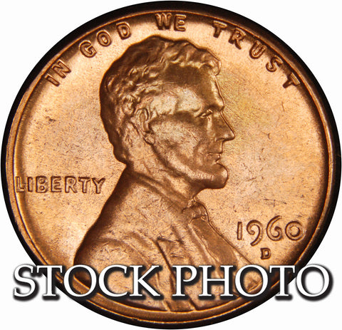 1960-D Lincoln Cent