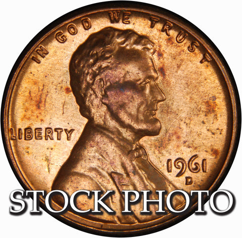 1961-D Lincoln Cent