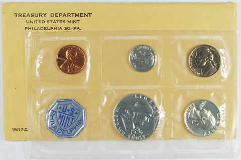 1961 Proof Set . . . . <br>Gem Brilliant Proof
