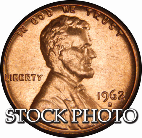 1962-D Lincoln Cent