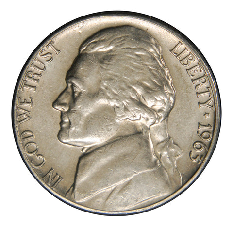 1963-D Jefferson Nickel