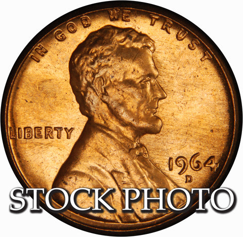 1964-D Lincoln Cent