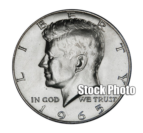 1965 SMS Kennedy Half . . . . Brilliant Uncirculated