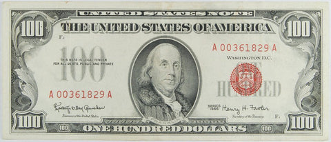 $100.00 1966 United States Note