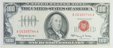 $100.00 1966 United States Note STAR