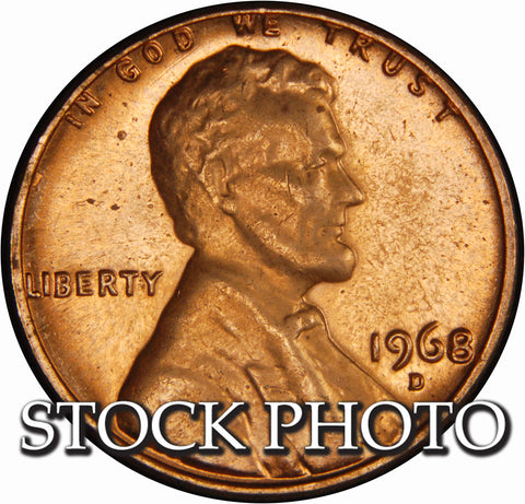 1968-D Lincoln Cent