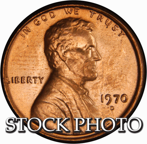 1970-D Lincoln Cent