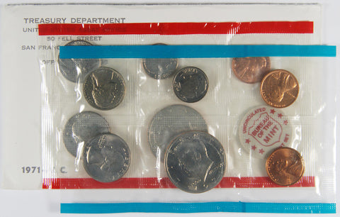 1971 Mint Set . . . . Choice Brilliant Uncirculated