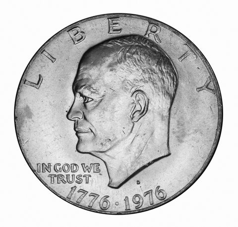 1976-D Type 1 Eisenhower Dollar