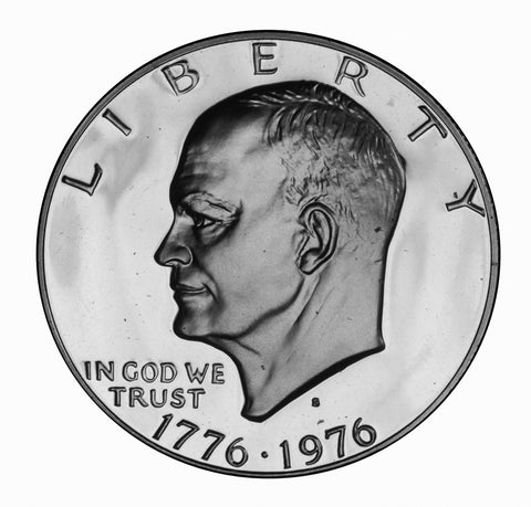1976-S Type 2 Eisenhower Dollar