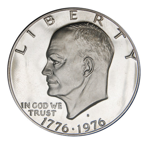 1976-S Type 1 Eisenhower Dollar
