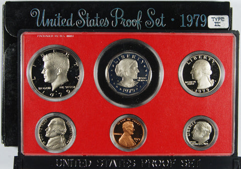 1979-S Clear S Type 2 Proof Set
