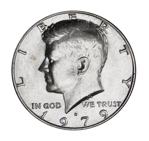 1979-D Kennedy Half . . . . <br>Brilliant Uncirculated