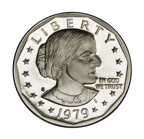 1979-S Type 1 Susan B. Anthony Dollar