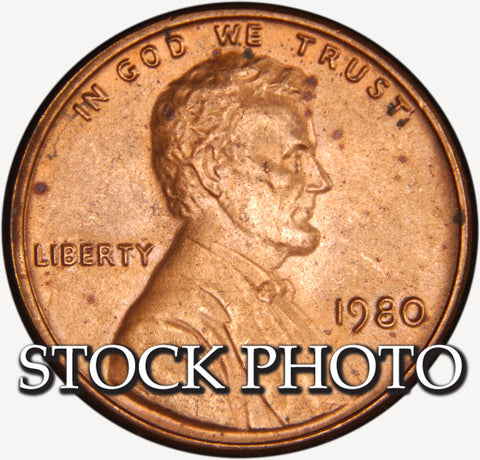 1980 Lincoln Cent . . . . Brilliant Uncirculated