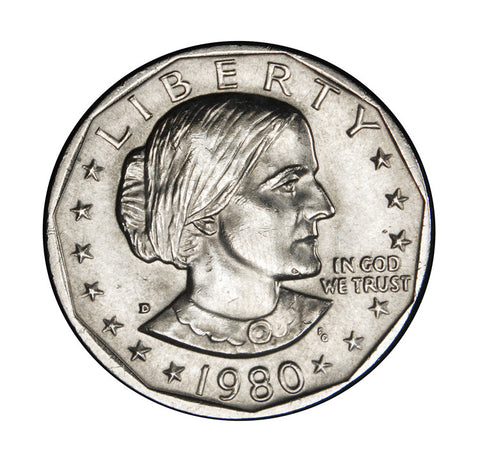 1980-D Susan B. Anthony Dollar